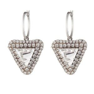 SPARKLY DANNIJO EARRINGS.  PERFECT HOLIDAY BLING